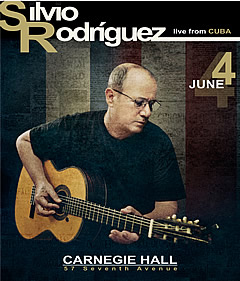 Sivio Rodríguez Carnegie Hall June 4