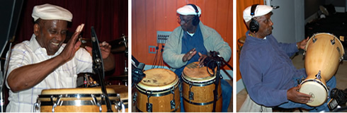 Latin percussionist Francisco Aguabella