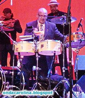 Master Percussionist Calixto Oviedo