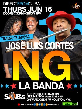 NG La Bnada @ SOBs