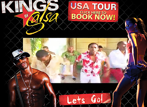Kings of Salsa dance show - Cuban Music News - Not&iacute;cias de m&uacute;sica cubana