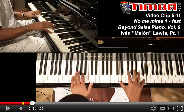 Mel&oacute;n video clips - Beyond Salsa Piano Vol.6 - Cuban Music News - Noticias de m&uacute;sica cubana