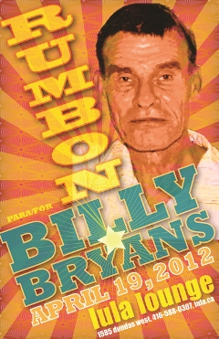 Rumbon for Billy Bryans - Lula Lounge