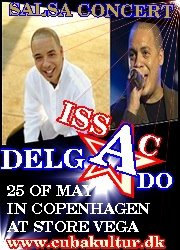 Issac Delgado - Copenhagen May 25, 2012