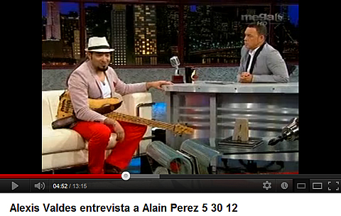 Alain Pérez Interview - Cuban Music News - Noticias de música cubana