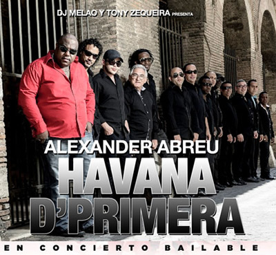 Havana D' Primera en Miami @ The Place - November 25 2012 = Cuban Music News