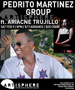 Pedrito Mártinez Group in Washington D.C. - Cuban Music News - TIMBA in D.C.