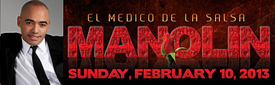 "Manolin ""El Medico de la Salsa"" LIVE at COCOMO - February 10th, 2013 Club Cocomo San Francisco, CA"