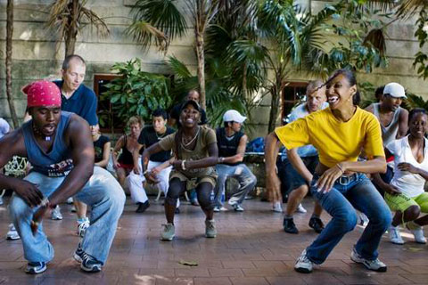 Mi Salsa Cubana Rumba Class in Cuba