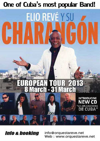 Elito Rev&eacute; y su Charang&oacute;n European Tour 2013