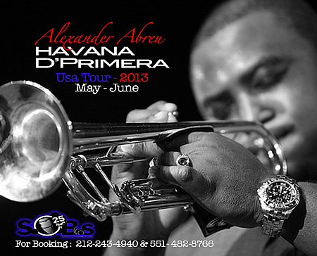 Havana D Primera Official USA 2013 Tour Dates