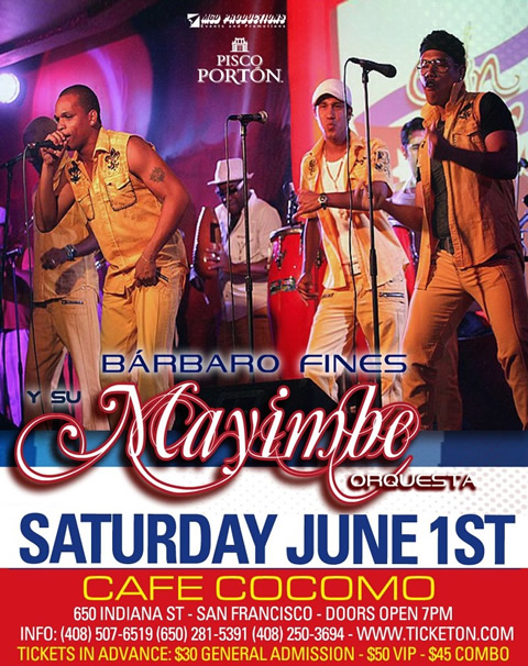 Bárbaro Fines y su Mayimbe at Café Cócomo - Saturday June 1rst 2013 - Cuban music news - Noticias de musica cubana