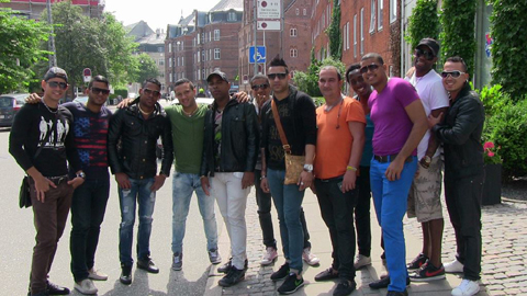 Maykle Blanco y Su Salsa Mayor in Denmark