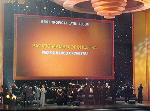 Pacific Mambo Orchestra wins 2014 Grammy Award for Best Tropical Latin Album