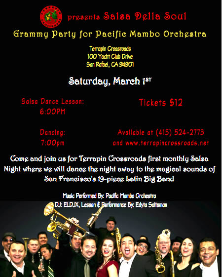 Pacific Mambo Orchestra Grammy Award Celebrations