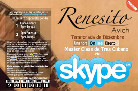 english young but already renowned tresero renesito avich is now ...