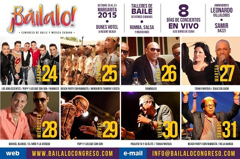 Baílalo Cuban Dance & Music Convention