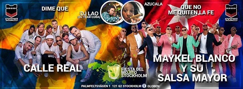 Maykel Blanco & Calle Real May 27 Stockholm