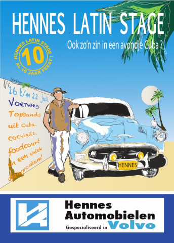 Hennes Latin Stage 2016