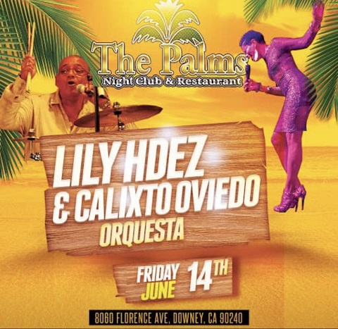 Calixto Oviedo & Lily La Amazona del Sabor  - The Palms