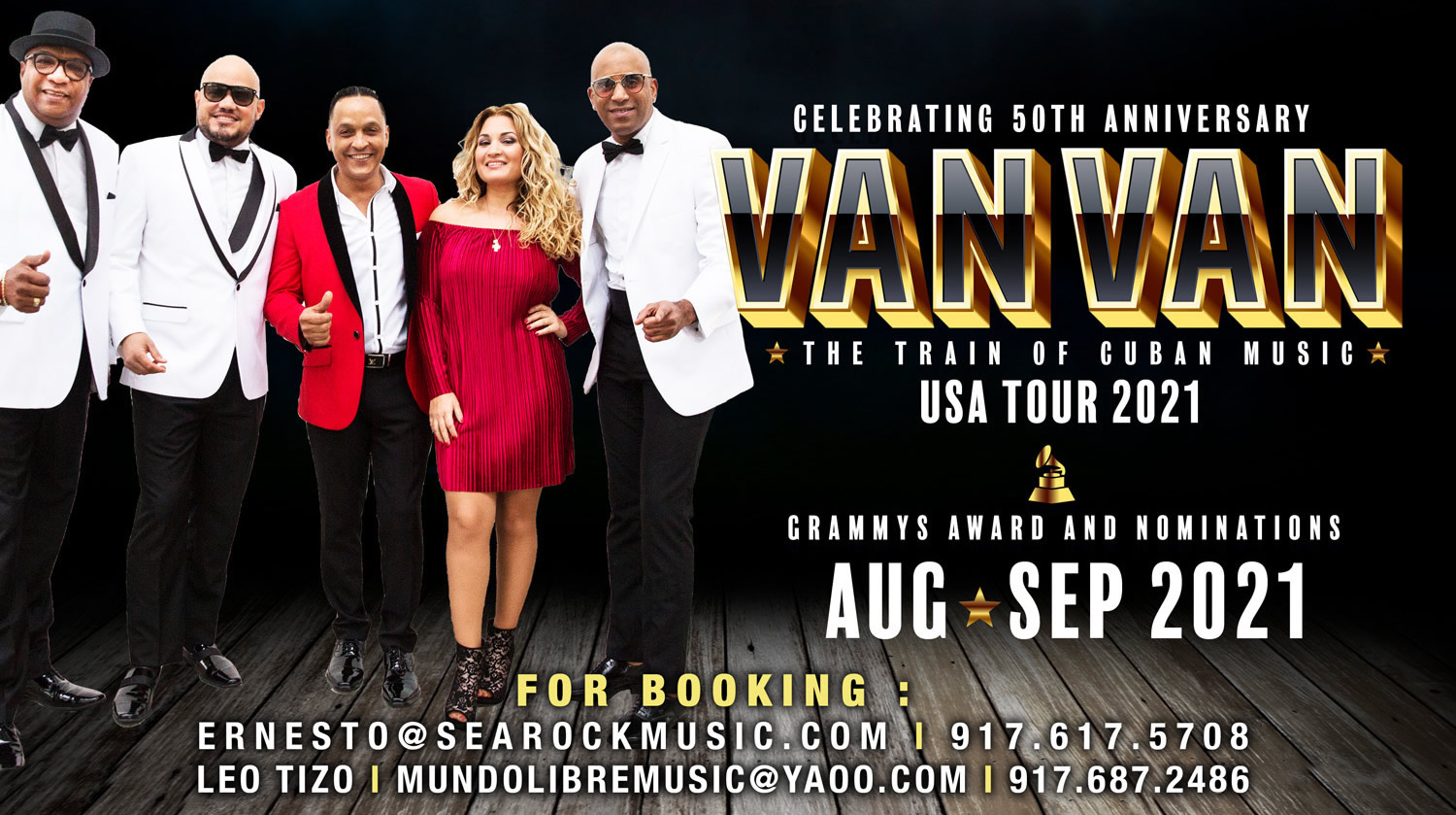 Searock Entertainment Presents Los Van Van Summer 2021