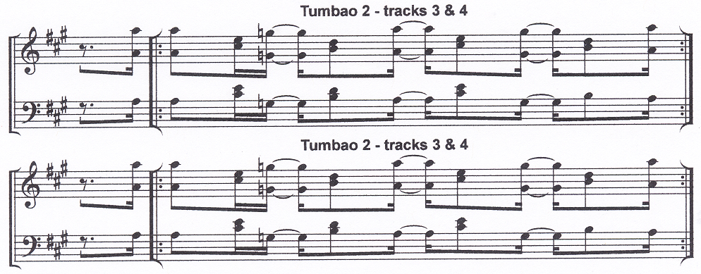 Piano example from Beyond Salsa Piano - The Cuban Timba Piano Revolution -