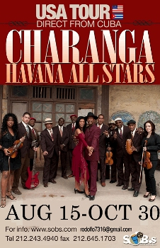 Charanga Havana All Stars US Tour