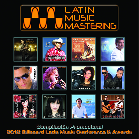 Latin Music Mastering - Compilación Promocional - 2012 Billboard Latin Music Conference & Awards