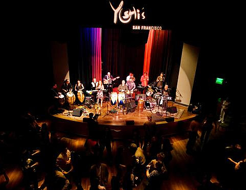 Yoshi's San Francisco - 1330 Fillmore Street, SF, CA 94115, Phone: 415.655.5600