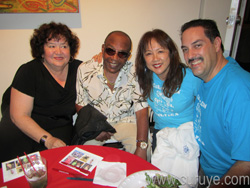 Changuito at Curuye Celebration with Gloria Herrera, Kay Torres, DJ SAOCO Vicente Lantigua