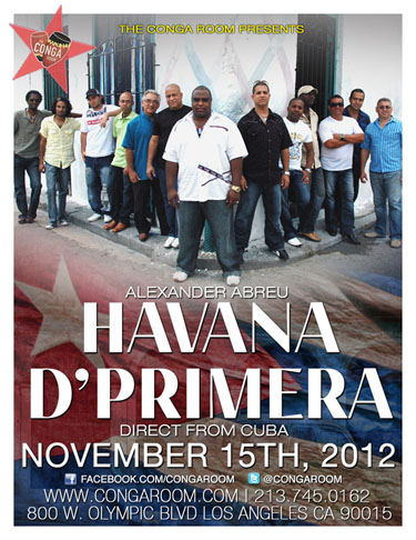 Havana D' Primera Conga Room