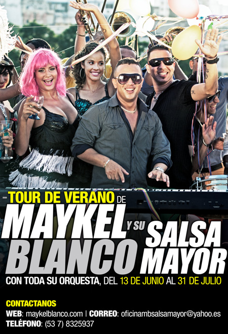 Maykel Blanco y su Salsa Mayor EUROPE 2013