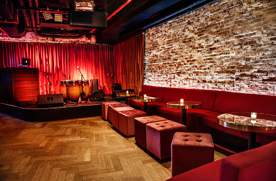 SUBROSA NYC - An eclectic listening room dedicated to showcasing music, art, and culture. Located in New York's Meatpacking District, with live music nightly.