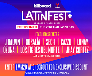 Billboard & Telemundo LatinFest+ Latin Music's Biggest Event Celebrates 30 years with LatinFest+ - Venetian Las Vegas