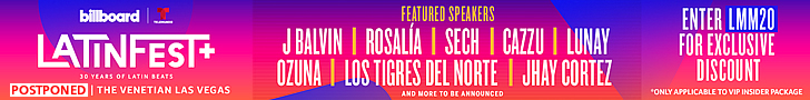 Billboard & Telemundo LatinFest+ Latin Music's Biggest Event Celebrates 30 years with LatinFest+ - April 20-23 at the Venetian Las Vegas